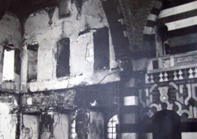 جزء من قاعة الذهب في قصر العظم بحماة قبل الترميم part of goledn hall in alazem palace hama before restoration قسم اخر