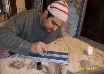 ابو الرائد فنان عجمي